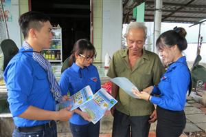 Cà Mau: 250 sinh viên tình nguyện về địa bàn khó khăn