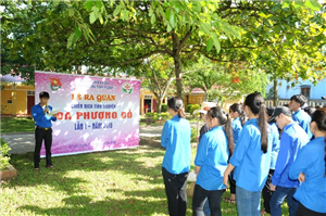 Tuổi trẻ Thừa Thiên Huế với Chiến dịch Hoa phượng đỏ 2018