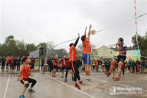Đại học Vinh giành giải Nhất Giải bóng chuyền truyền thống học sinh - sinh viên tỉnh Nghệ An
