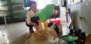 Giấy chống thấm tái chế của hai học sinh Huế