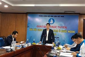 Giao ban trực tuyến với Hội SVVN ở nước ngoài năm 2019