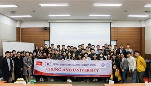 Đại hội Chi hội SVVN tại ĐH Chung-Ang, Hàn Quốc, nhiệm kỳ 2019-2020