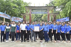 Sôi nổi hoạt động Tiếp sức mùa thi tại Lào Cai