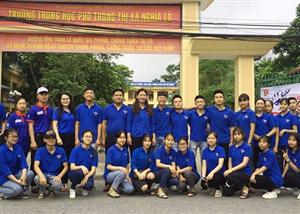 Màu xanh tình nguyện Tiếp sức mùa thi tại Yên Bái