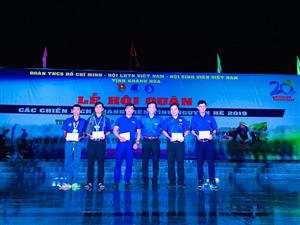 Rạng rỡ Đêm hội quân các Chiến dịch Thanh niên tình nguyện hè năm 2019
