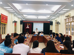 Hội Sinh viên TP Hải Phòng giao ban phối hợp với Hội Sinh viên Việt Nam tại Vương quốc Bỉ