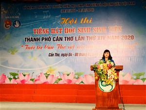 Cần Thơ: Khai mạc Hội thi Tiếng hát HSSV – Chuỗi hoạt động cao điểm chào mừng kỷ niệm 70 năm ngày truyền thống HSSV và Hội Sinh viên Việt Nam