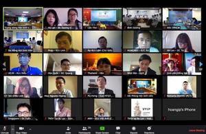 Giao ban trực tuyến với các Hội Sinh viên Sinh viên, Hội Thanh niên Việt Nam ở nước ngoài tháng 3/2020