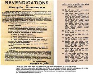 Bản Yêu sách của nhân dân An Nam - Một thế kỷ vẫn còn nguyên giá trị