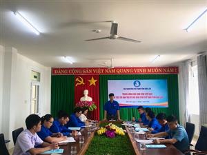 Trung ương Hội Sinh viên Việt Nam làm việc với Ban Thư ký Hội SVVN tỉnh Đắk Lắk
