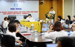 Hội nghị BCH Trung ương Hội SVVN (mở rộng) lần thứ 4, khóa X