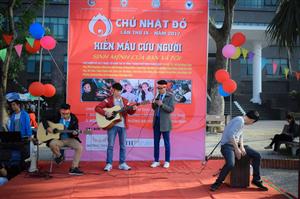 Chủ nhật đỏ trường Đại học Y Dược Thái Bình lần IX năm 2017