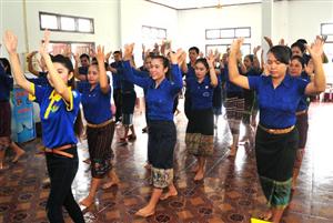 Khánh Hòa: Sôi nổi chiến dịch tình nguyện Mùa hè xanh tại tỉnh Attapeu (Lào)
