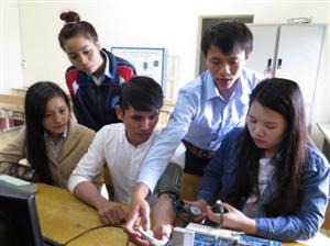 Nữ sinh đam mê ứng dụng CNTT trong chế tạo thiết bị y tế