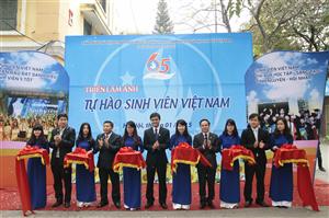 Triển lãm ảnh Tự hào Sinh viên Việt Nam