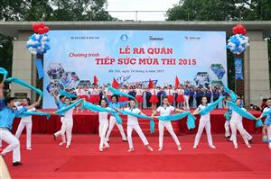 Lễ quân Tiếp sức mùa thi 2015